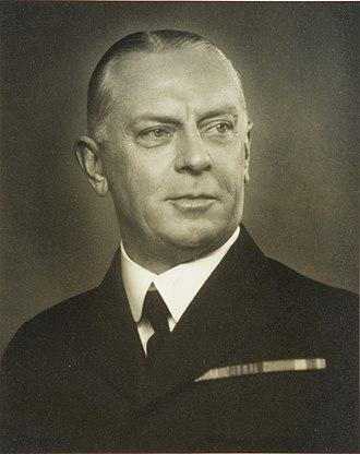Chief of Air Force (Sweden) - Image: Major General Eric Virgin (1876–1950)