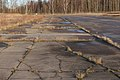 Malmi Airport old runway 23 original concrete pavement 2.jpg