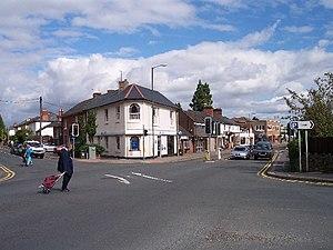 Malvern Link - Malvern Link crossroads