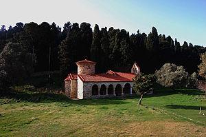 Zvërnec Island - Image: Manastiri Zverrnecit