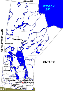List Of Cities In Manitoba