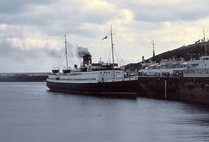 Manxman at Douglas, Isle of Man, August 1980