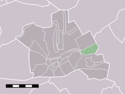 The statistical district of Breudijk in the municipality of Woerden.