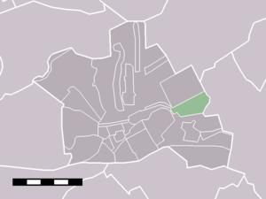 Breudijk - Image: Map NL Woerden Breudijk
