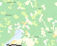 Map commune FR insee code 40021.png