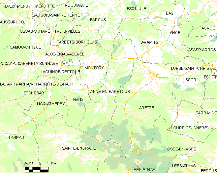 Archivo:Map commune FR insee code 64310.png