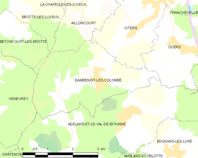 Map commune FR insee code 70195.png