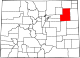 Map of Colorado highlighting Washington County.svg
