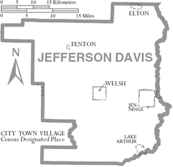 Jefferson Davis Parish Louisiana Wikipedia