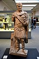 Marble statue of the Roman Emperor Septimius Severus in a military uniform, r. 193-211 CE. Made 193-200 CE. From Alexandria, Egypt British Museum.jpg