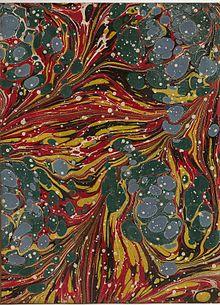 Paper marbling - Wikipedia