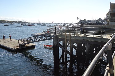 Marblehead Massachusetts dock and harbor