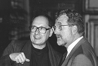 Marc Van Montagu - Marc Van Montagu (left) and Jeff Schell (right), in 1993.