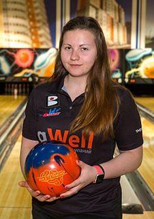 Maria Bulanova Russian ten-pin bowler