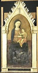 Pseudo-Ambrodigio di Baldese: Virgin and Child