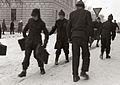 Mariborski šolarji na poti iz šole 1956.jpg