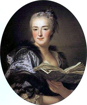 François Boucher - Portrait of Marie-Jeanne Buzeau, wife of Boucher by Alexander Roslin