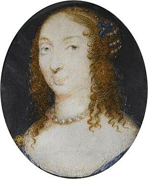 Dame d'atour - Marie d'Hautefort