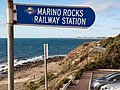 Marino Rocks Station signage at Marino Rocks beach.jpg