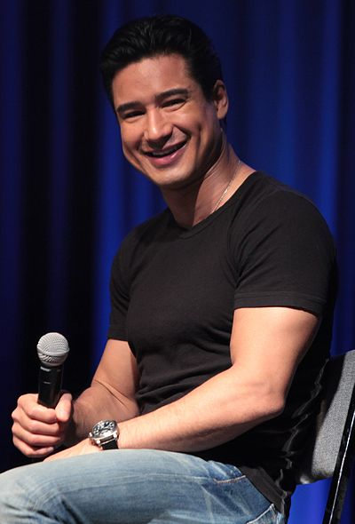 Mario Lopez, American television host and actor