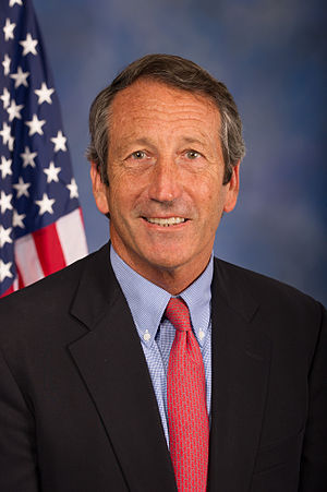 Mark Sanford's disappearance and extramarital affair - Mark Sanford, Republican Governor of South Carolina from 2003 to 2011.