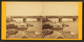 Market Street Bridge (Philadelphia) - Third Market Street Bridge (1875-88)