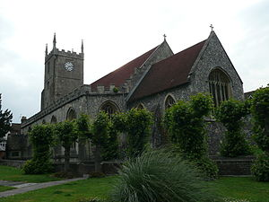 Marlborough, Wiltshire - St Mary's parish church