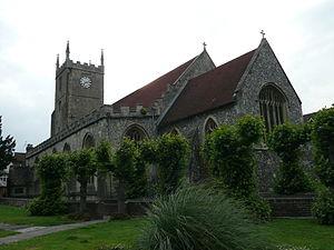 Marlborough, Wiltshire - St Mary's parish church