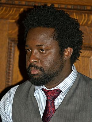 Caribbean literature - Marlon James at the 2010 Brooklyn Book Festival