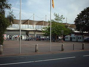 View of the Marschweg Stadium