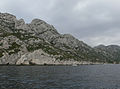 Marseille - way to the calanques by boat.JPG