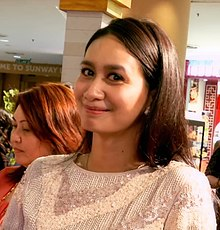 Marsha Milan for MeleTOP during Cinderella premiere.jpg