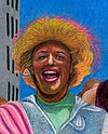 Marsha P. Johnson, Joseph Ratanski and Sylvia Rivera in the 1973 NYC Gay Pride Parade by Gary LeGault (cropped).jpg