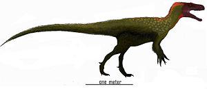 1976 in paleontology - Marshosaurus