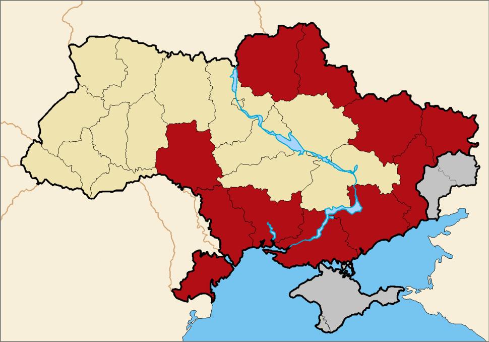 Martial law in Ukraine (2018) wo Donbass Crimea