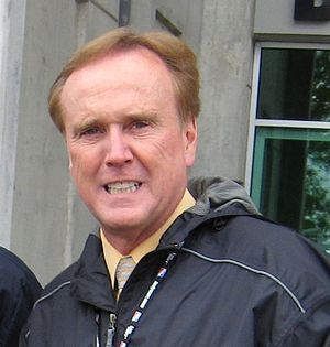 Marty Reid - Reid at the Indianapolis Motor Speedway in May 2008.