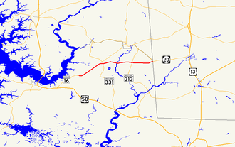 Maryland Route 392 - Image: Maryland Route 392 map