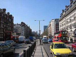 Marylebone Road - Marylebone Road, London, looking west towards the junction with Baker Street