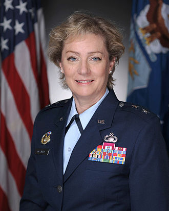 Monterey High School (Lubbock, Texas) - Maj. Gen. Wendy Motlong Masiello, USAF, a 1976 alumna of Lubbock's Monterey High School