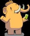 Mastodon Mascot (Greeting).png