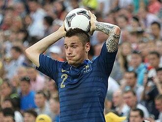 Mathieu Debuchy - Debuchy playing for France at UEFA Euro 2012