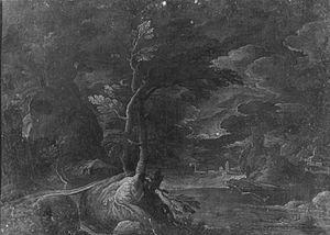 Matthijs Bril - Moonlight landscape