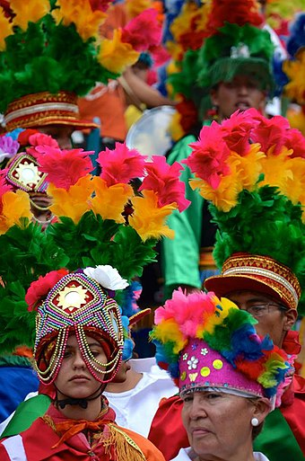 Matlachinada 2014. Event held every year, with Matachines from all over the state of Coahuila. Matlachinada 2014.jpg
