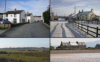 Mawbray A village on the Cumbrian coast in England