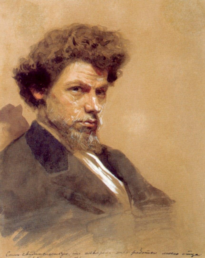 Maximov by Kramskoi