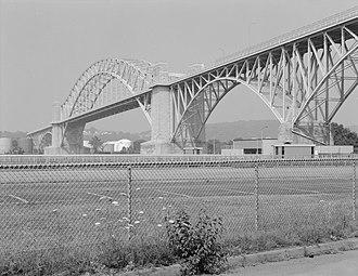 McKees Rocks Bridge - Image: Mc Kees Rocks Bridge
