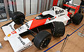 McLaren MP4-5B and autograph by Ayrton Senna 2009 Japan.jpg