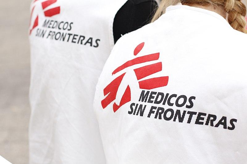 File:Medicos Sin Fronteras en Murcia.jpg