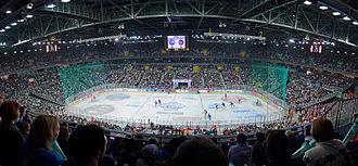 Arena Zagreb - Image: Medvescak Arena west stand