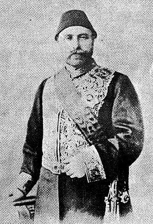Kadri Pasha - Mehmed Kadri Pasha wearing a diplomatic uniform